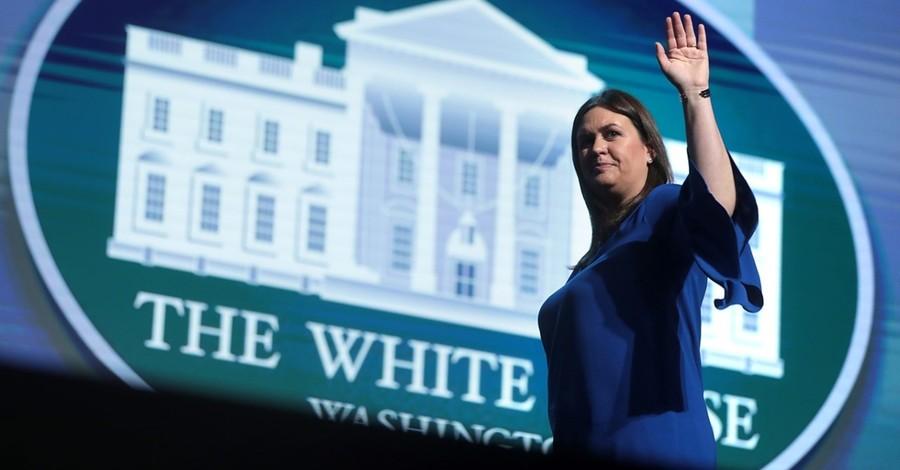 Sarah Huckabee Sanders announces gubernatorial bid