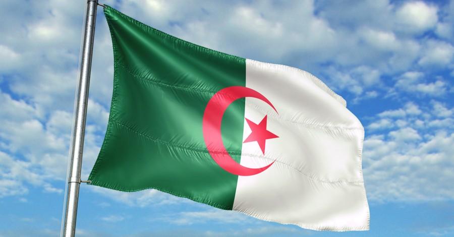 Algerian Flag, Christian in Algeria Imprisoned for Cartoon on Facebook