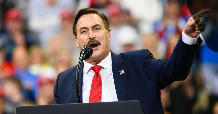 Mike Lindell, Twitter bans MyPillow accounts