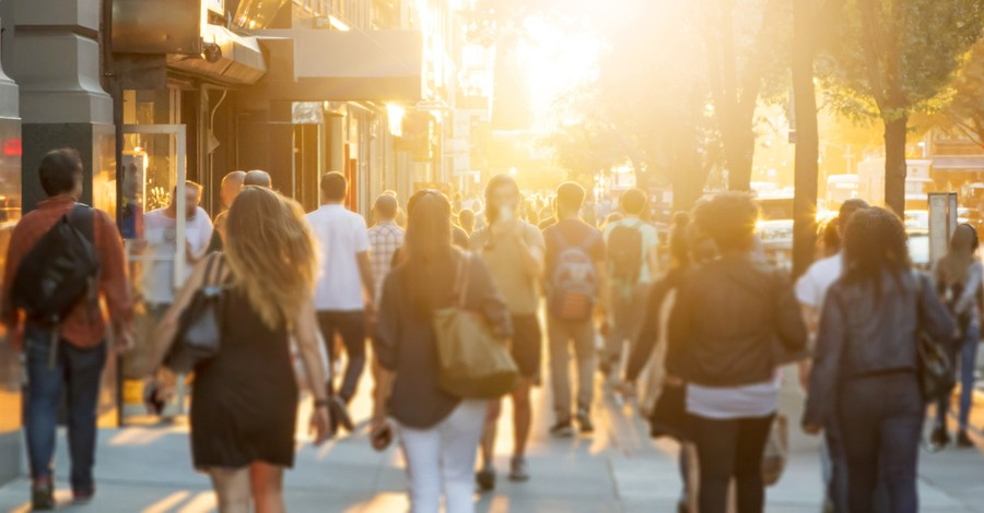 People in the street, the rise of secular ideology