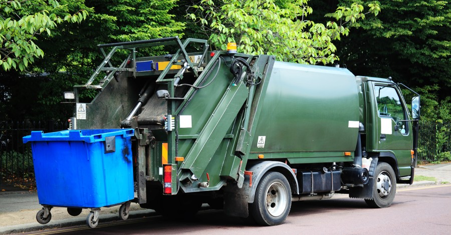 Garbage Truck, sanitation worker thanks God for helping him save a kidnapped 10-year-old