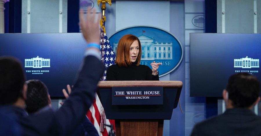 Jen Psaki, The White House refuses to rule out taxpayer-funded abortion in COIVD-19 relief bill