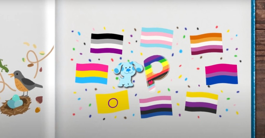 Blue & You Screenshot, Nickelodeon includes P is for Pride in new Blue's Clues song