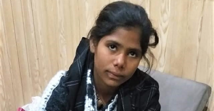 young girl, kidnapped girl is returned home