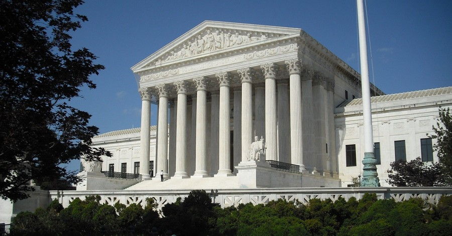 The US Supreme Court Building, The US Supreme Court rejects case challenging PA's handling of the Presidential election
