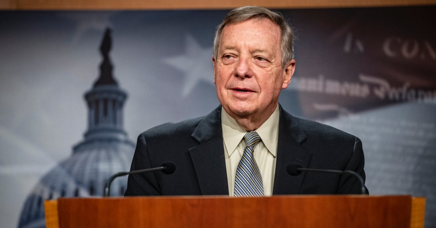 Dick Durbin, Durbin compares opponents of the Equality Act to the KKK