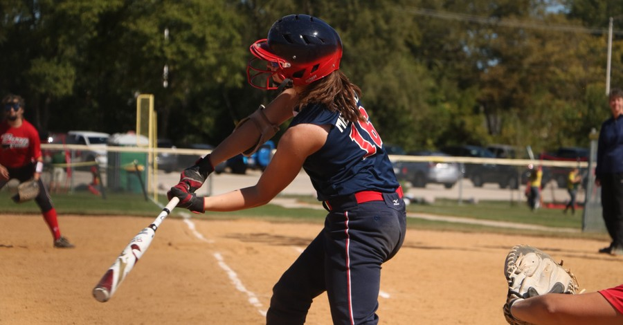 Girl playing softball, Alabama House passes bill that will prohibit trans athletes from competing in girls' sports