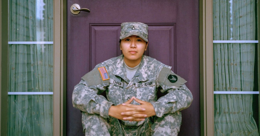 A woman solider, Men and Women are Different, and That's a Good Thing