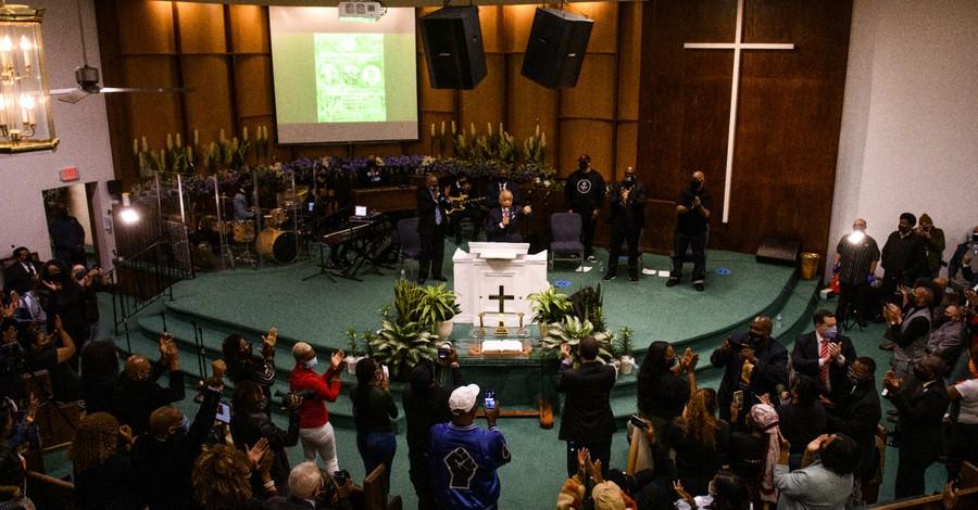 George Floyd prayer service, People gather in MN for prayer service ahead of George Floyd murder trial