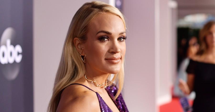 Carrie Underwood, Underwood performed her new Christian music album in Nashville on Easter Sunday