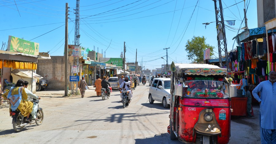 A street in Pakistan, Christian nurses are attacked and arrested under blasphemy laws in Pakistan