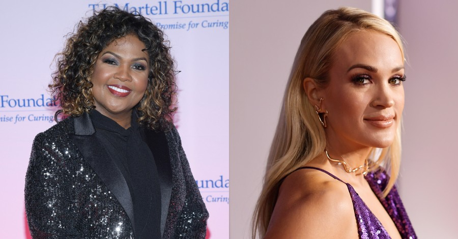 Cece Winans and Carrie Underwood
