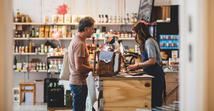 Store employee, 25 percent of protestants say they have to work on some Sundays