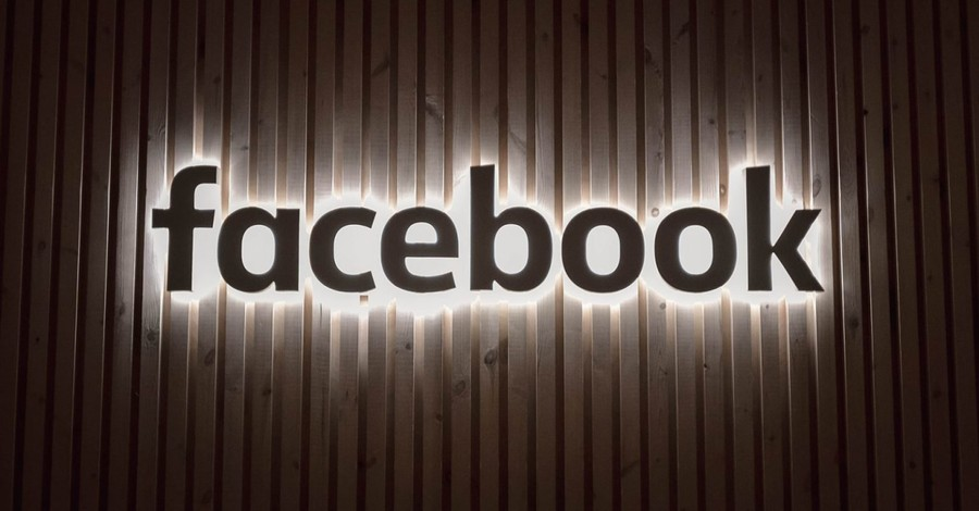 Facebook sign, LifeSiteNews is banned from Facebook