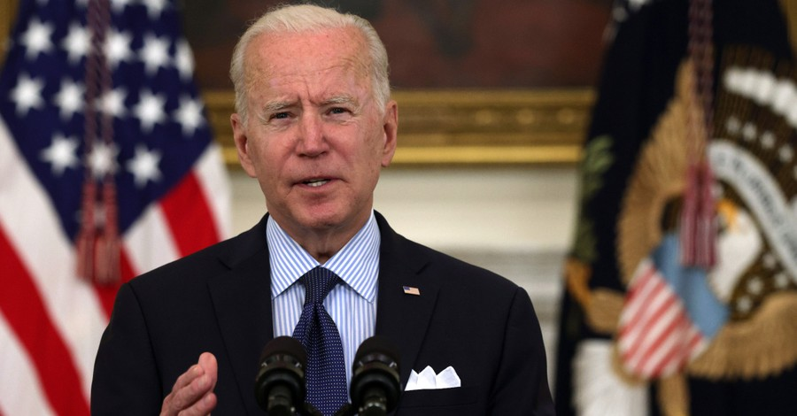 Joe Biden, Biden becomes the first president not to mention God in his national day of prayer proclamation