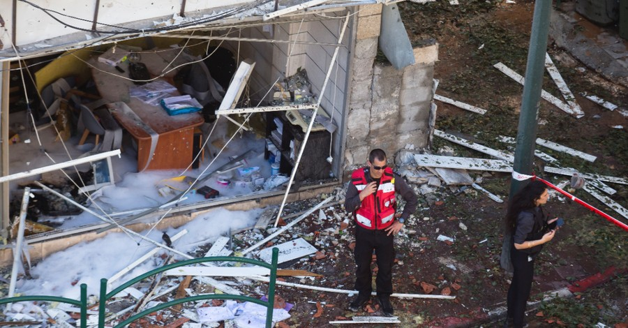 The aftermath of an explosion in Israel, A Mother and Humanitarian Leader Reflects on the Situation in Israel Today