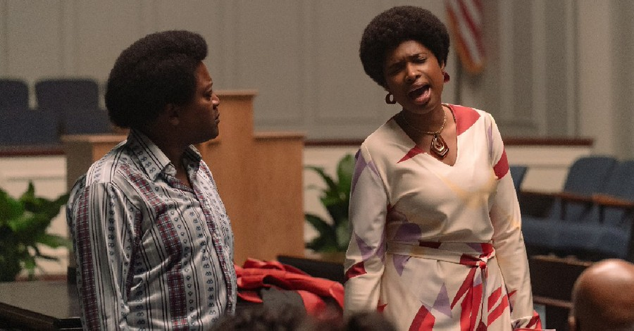 """Jennifer Hudson in """"Respect"""", """"Respect"""" highlights the faith and life of Aretha Franklin"""