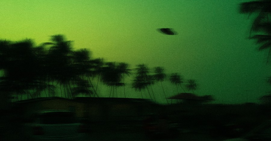 A UFO in the sky, to UFOs exist?