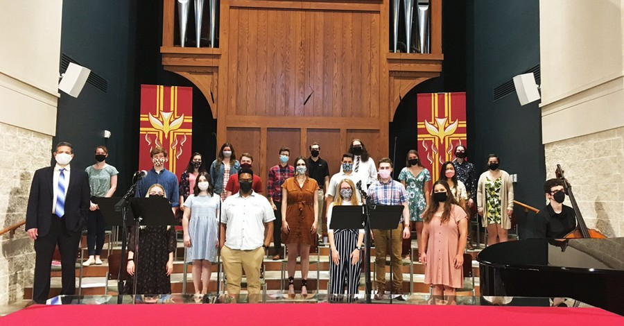 The Doane University Choir, Is it safe to sing in church yet?