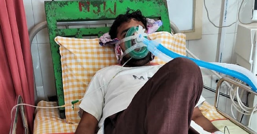 Pastor injured in India, A pastor contracts COVID with seeking treatment for injured sustained during an attack by extremists