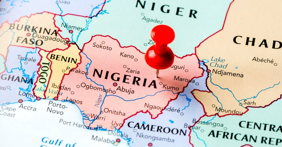 Nigerian map, more than 20 are killed by Fulani herdsmen across Nigeria in recent days