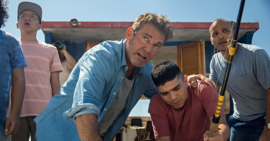 Dennis Quade in Blue Miracle, Netflix's 'Blue Miracle' highlights the importance of fatherhood