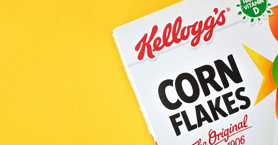 Corn Flakes box, Kellogg's Feeds Children LGBTQ Agenda