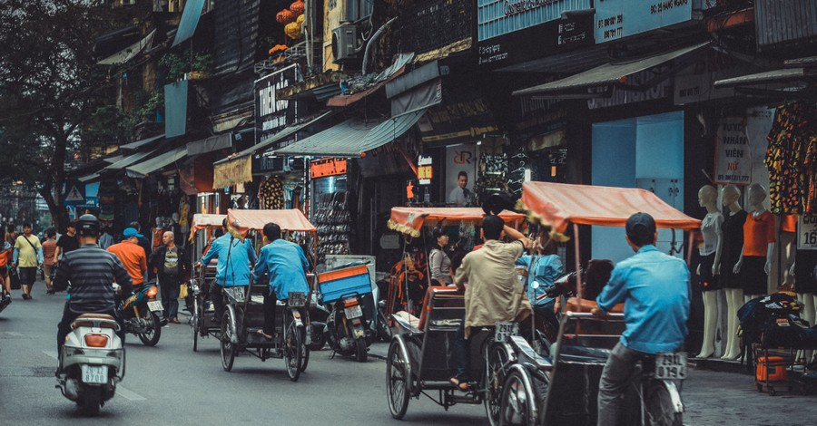 People on the streets of Vietnam, Evangelicals Take Brunt of COVID-19 Collateral Damage in Vietnam