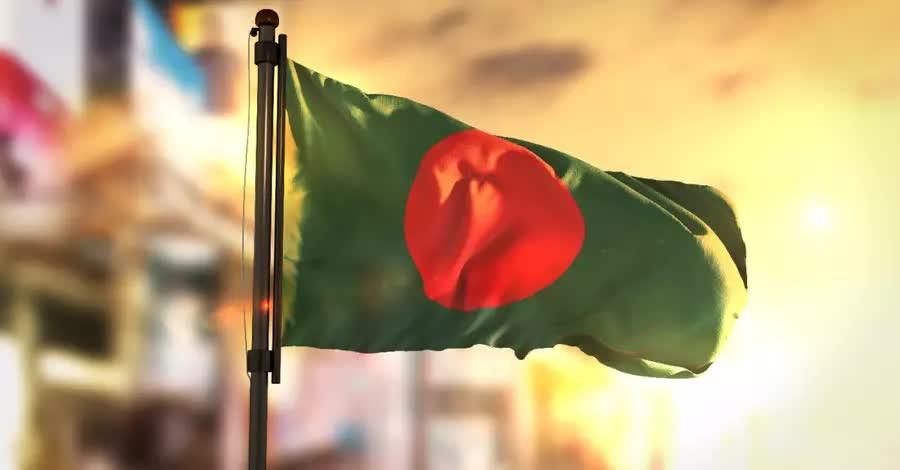 Bangladesh flag, Religious minorities protest the establishment of Islam as the official religion of Bangladesh