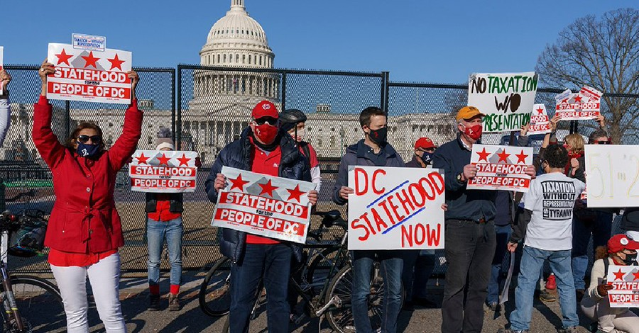 People protesting for DC Statehood, Faith leaders send Congress a letter in support of DC statehood