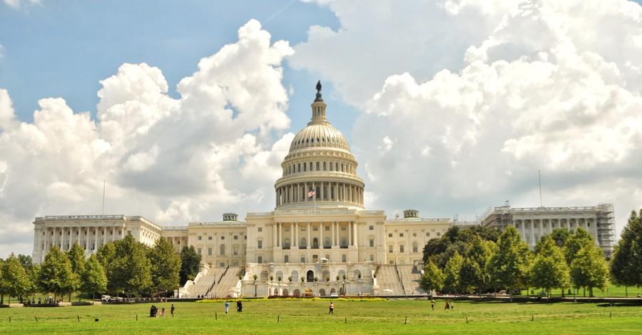 The US Capitol Building, GOP filibuster blocks Democrats voting bill
