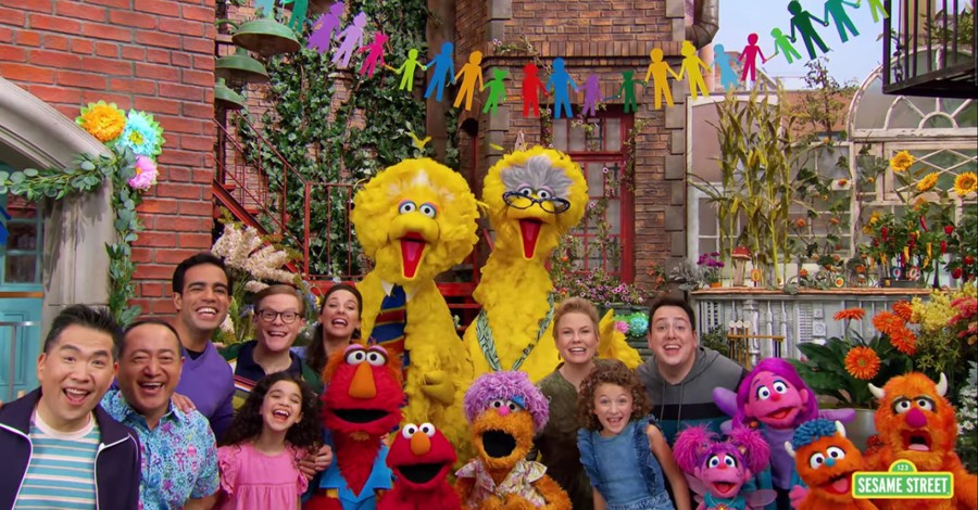 Families on Sesame Street, Sesame Street introduces a reoccurring gay couple