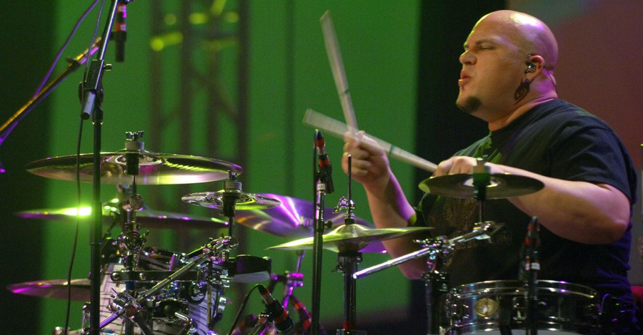 Andy Williams playing the drums, Casting Crowns asks for prayers for Williams following a serious accident