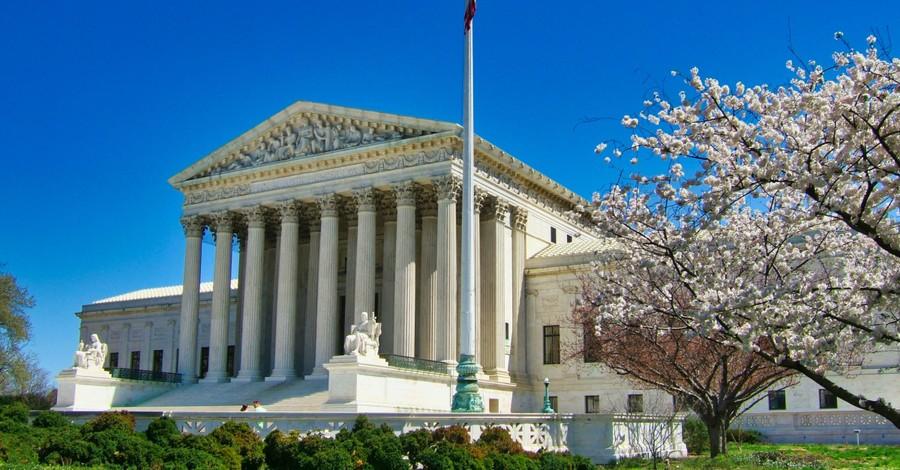 The US Supreme Court building, SCOTUS refuses to hear a Virginia school's appeal in transgender bathroom case