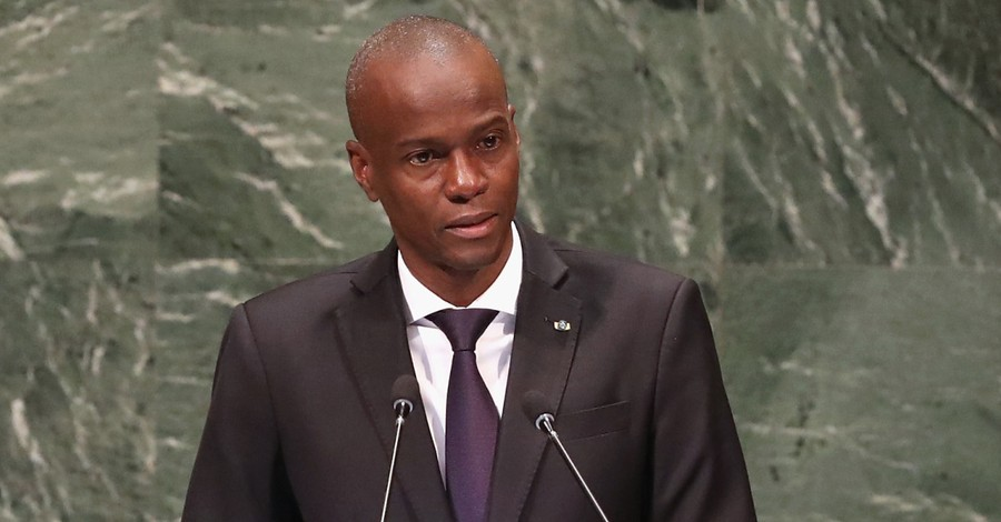 Jovenel Moise, a Florida man is arrested in relation to President Moise's assassination