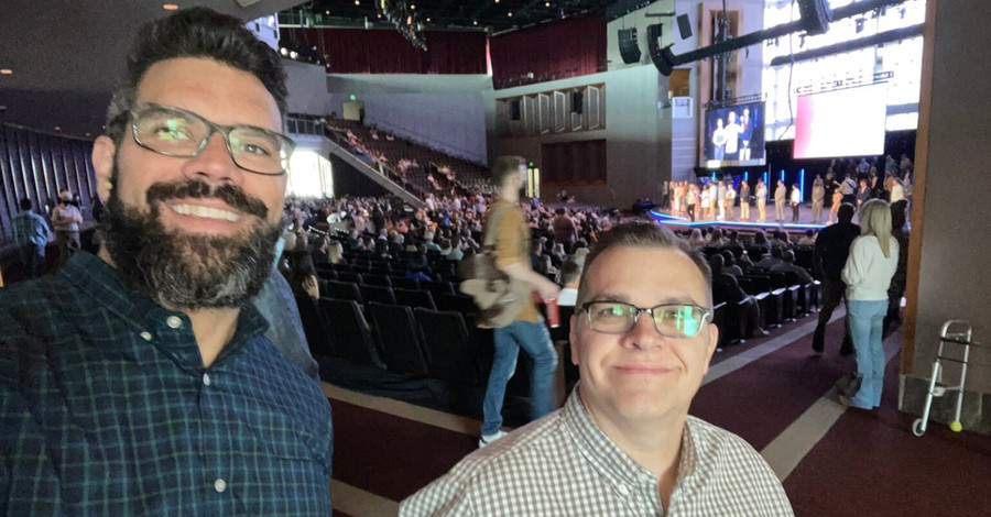 Pastor Chris Swain and Pastor Robby Gallaty, Nashville megachurch mourns beloved staff Pastor Chris Swain