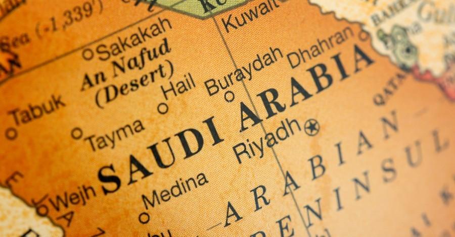 Saudi Arabia on the map, Christianity in Saudi Arabia