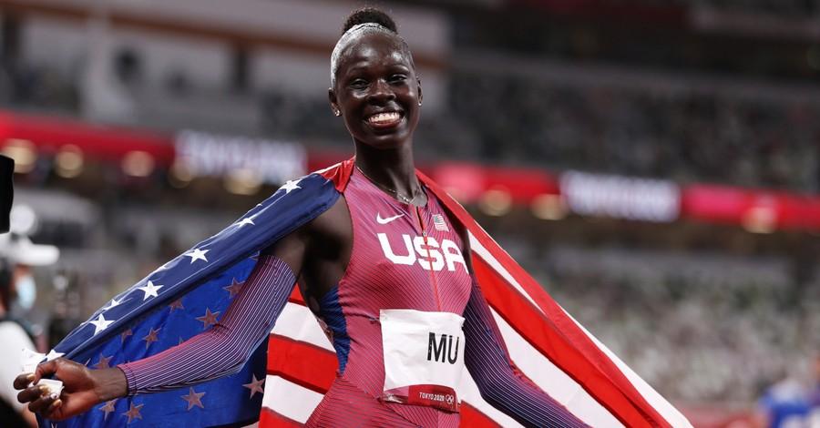 Athing Mu, Mu wins gold at the olympics