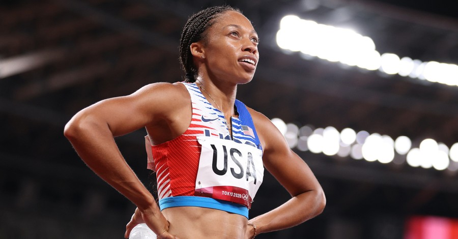 Allyson Felix, Felix becomes the most decorated female Olympian ever