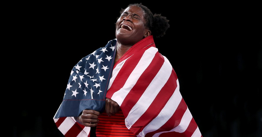 Tamyra Mensah-Stock, Mensah-Stock shares that she will use her Olympic winnings to help her mother open up a food truck