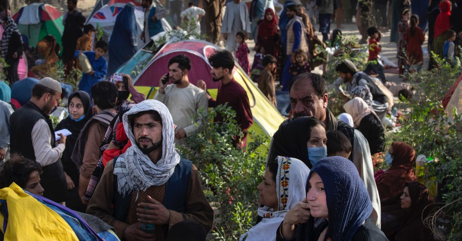 Displace Afghans, What does God think of the Taliban?