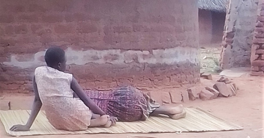 Harriet Nanzala resting, Woman is attacked by her Muslim brother over her Christian faith