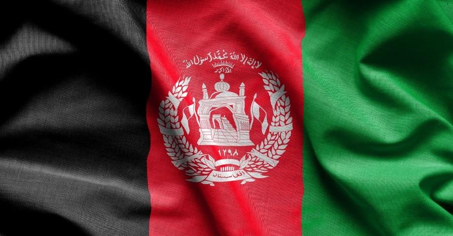 afghanistan flag taliban middle east