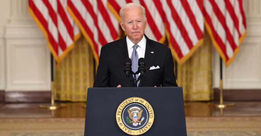 Joe Biden, Biden defends his decision to pull US troops out of Afghanistan