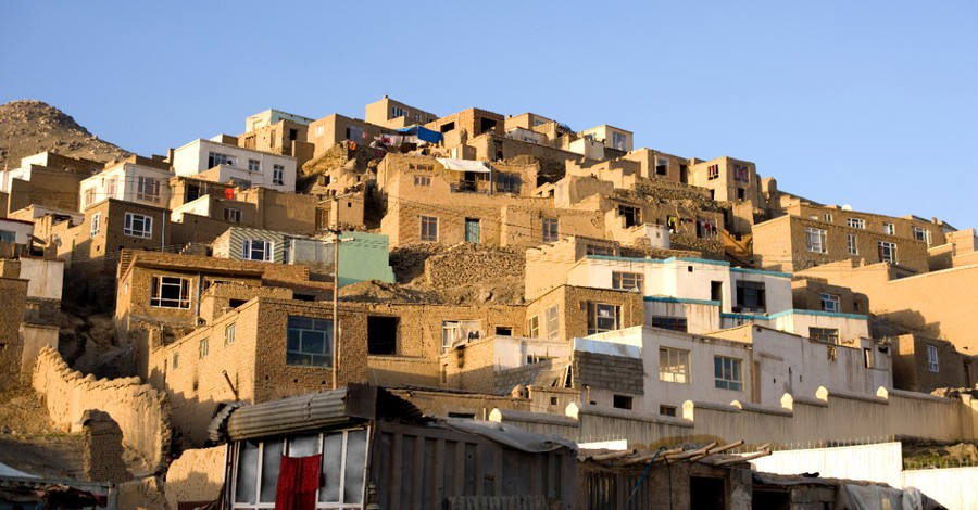 A town in Afghanistan, 3 Afghan Christian families escape to Italy