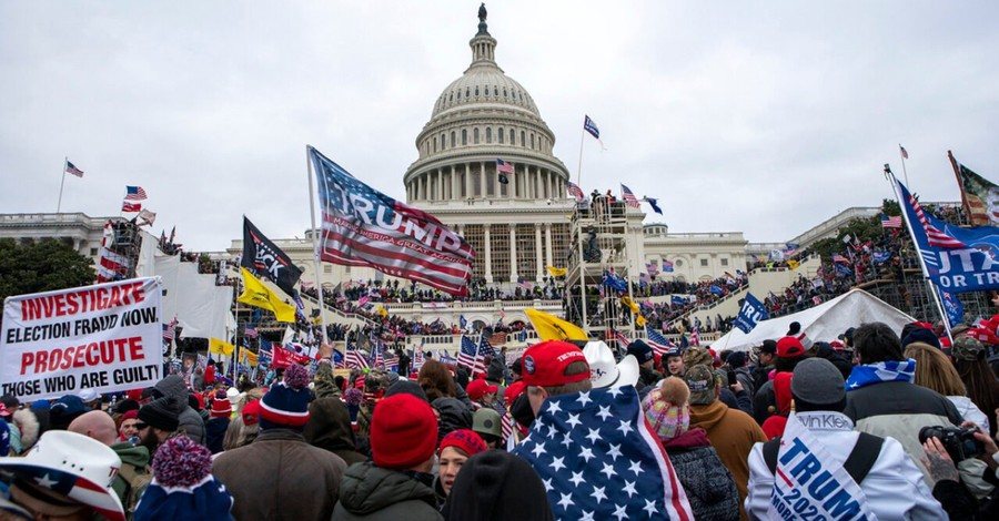 The Capitol mob, Survey analyzes who Americans blame for the insurrection