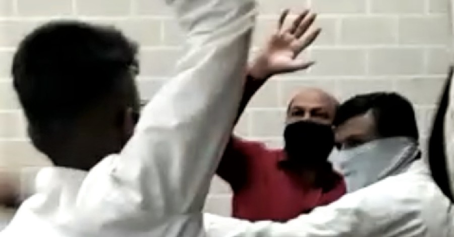Indian Pastors being attacked, Indian pastors attacked by extremists