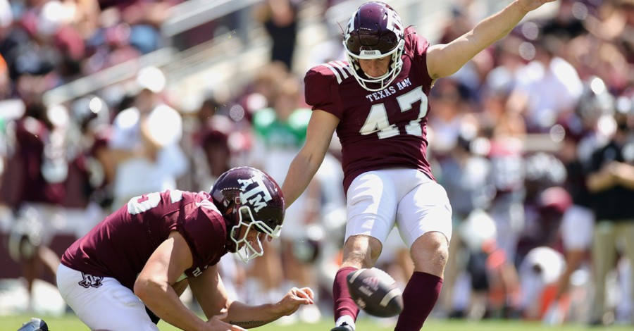 Seth Small, Small opens up about his faith after kicking game-winning field goal