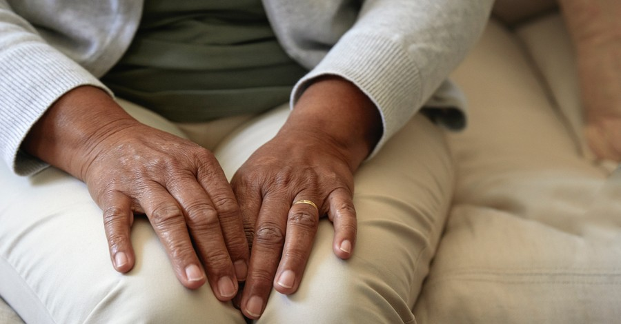 Elderly woman,