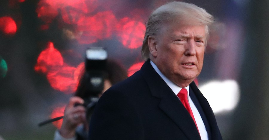 Trump Calls Himself 'Non-Denominational Christian,' Says He's 'Thankful to God' for Healing from Virus